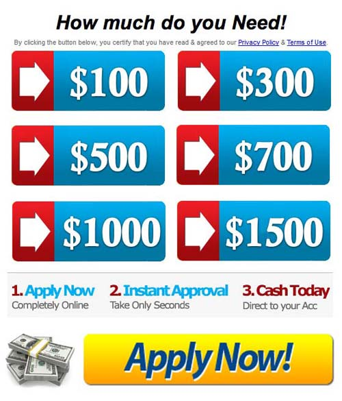 Bad Credit Payday Loans No Credit Check Direct Loan: No Credit Check Instant Loans ★ Low Interest! APPLY NOW